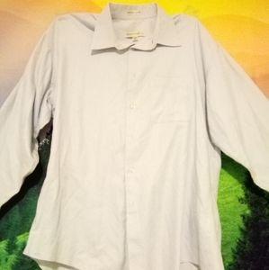 Pronto Uomo Men's Dress Shirt Size 34/35